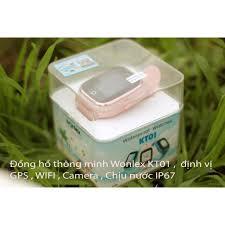 Đồng hồ thông minh Wonlex KT01 , camera , chịu nước IS67 - Đồng Hồ Thông  Minh Thương hiệu WONLEX