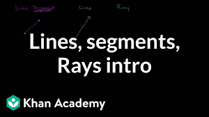 Powerpoint Org Chart Lines Not Straight Lines Line Segments Rays Video Lines Khan Academy