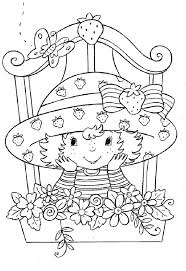 Strawberry Shortcake Coloring Pages 1