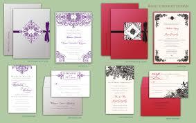 new custom invitation designs