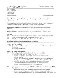 Infantry Skills For Resume A Good Resume Example