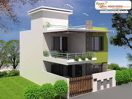 modern duplex house plans 2 family one story