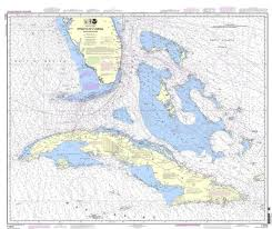 Details About Noaa Nautical Chart 11013 Straits Of Florida And Approaches