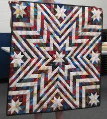 Best 25+ Star quilt patterns ideas on Pinterest   Quilt block ... & Exploding Star Quilt Pattern Free   pattern found in