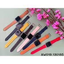 Dây da Hermes swiff dành cho Apple Watch đồng hồ thông minh iWatch Series 1/  2/