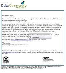 Recognize Legitimate Emails From Delta Community Credit Union