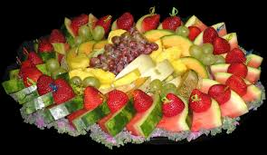 How To Decorate Salad Tray decorating food trays Fruit salad decoration plate Entertaining 57