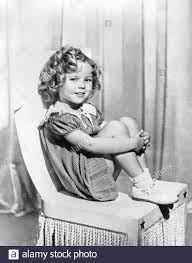 Shirley Temple als sie im Film 'Poor Little Rich Girl' agierte ---  L'attrice Shirley Temple (Shirley Jane Temple Black) ai tempi della  lavorazone del Film 'Poor Little Rich Girl' (Titolo italiano 'Una