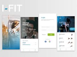 Health Design Challenge I Fit Health Fitness App Design Exploration By Ahyar Afal