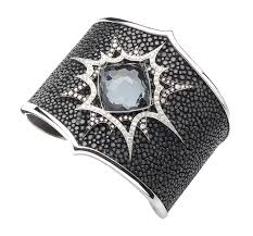 stephen webster she wrote crystal haze bang cuff