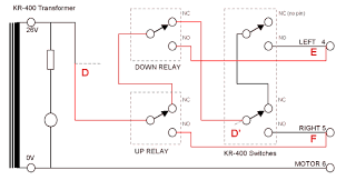 rotator controller relay and direction switch wiring