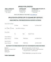 Birth Certificate Template Pdf Filler Templates Word Sample Format