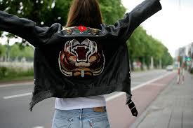 the embellished leather jacket