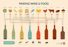 Wine Guide Chart Wine Pairing Chart Visual Ly
