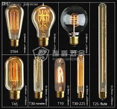 whole whole vintage chandelier light nostalgic antique bulb e27 110v edison silk bulb 9 model choose light near asia energy efficient light bulbs