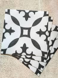 Moroccan Pattern Vinyl Flooring