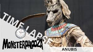 anubis makeup time lapse monsterpalooza 2018 ei makeup