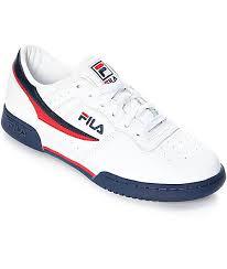 fila shoes all white. fila original fitness white \u0026 navy shoes fila all