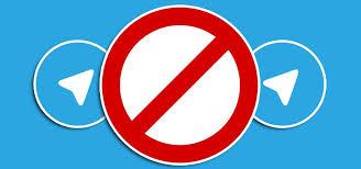 Image result for تلگرام ممنوعیت