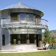 Image result for Grain Bin House