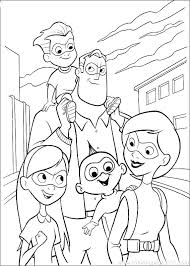Planning a family day out to see the movie with your family, download these free printable incredibles 2 coloring pages to get everyone excited for the movie! Incredibles 2 The Whole Parr Family The Incredibles 2 Kids Coloring Pages