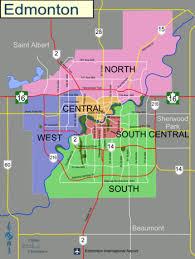 edmonton wikitravel Maps Edmonton city of edmonton (click to enlarge) maps edmonton alberta canada