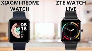 Xiaomi Redmi Watch VS ZTE Watch Live ...