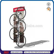 Bicycle Wheel Display Stand Tsdm100 Custom Store Metal Display Rack For Bike WheelWheel Rim 1