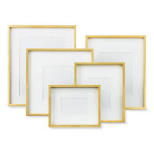gold metallic gallery frame gold metallic gallery frame