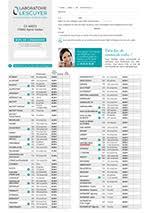 Bon De Commande Et Catalogue Produits Laboratoire Lescuyer