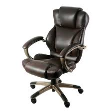 <b>High-Back Leather Office Chairs</b> You'll Love in 2020 | Wayfair