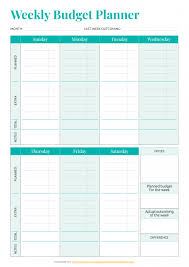 Free Printable Monthly Budget Planner Printable Budget Templates Download Pdf A4 A5 Letter Size