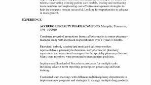 Retail Pharmacist Resume Sample. Pleasing Sample Resume For D ...