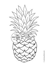Sensational Fruits Coloring Pages Free Printable Fruit For Kids