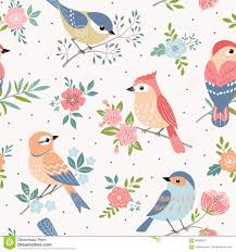 Bird Pattern Extraordinary Bird Pastel Pattern Stock Vector Illustration Of Pattern 48