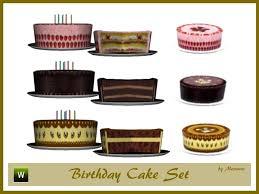 Mensures Birthday Cake Set