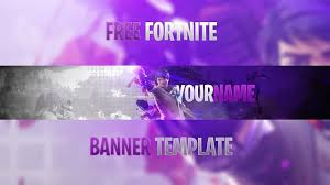 Best Youtube Banner Free Best Fortnite Youtube Banner Template 2018 How To Edit Youtube