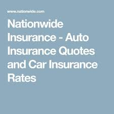Nationwide Life Insurance Quotes Online Adorable Nationwide Life Insurance Quotes Online Stunning Auto Insurance Card