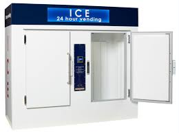 Mobile Ice Vending Machines Simple Ice Vending Machines VM48 VM48 Leer Inc