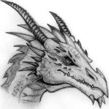 awesome pencil drawings dragon pencil sketch at paintingvalley com explore