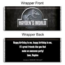 chocolate bar wrappers buy personalized hersheys chocolate bar wrappers birthday favors