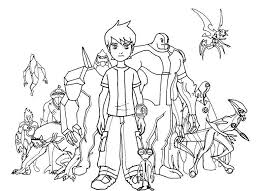ben 10 colouring ben 10 coloring pictures free coloring pages march coloring sheets free