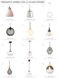 Universal Lighting Pendants A Roundup Of Affordable Pendants Under 100 Kitchen