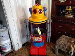 Robot Cotton Candy Vending Machine Simple Robot Cotton Candy Vending Machine Concessions Food Truck