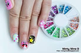 Minty Mina D: Kirby nail design and BornPrettyStore nail art ...