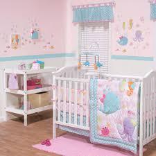 decoration baby girl ocean crib bedding love bird three pieces