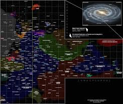 Star Trek Galaxy Chart Why Is Federation Space Divided Science Fiction Fantasy