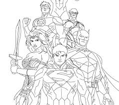Small Picture Justice League Coloring Pages Best Coloring Pages