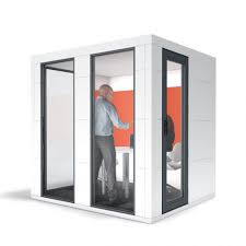 office pods. Decorating:Spacio Bricks Meeting Pods Soundproof Apres Furniture Also With Decorating Magnificent Photo Office 37