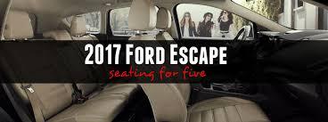 2017 ford escape seats 5